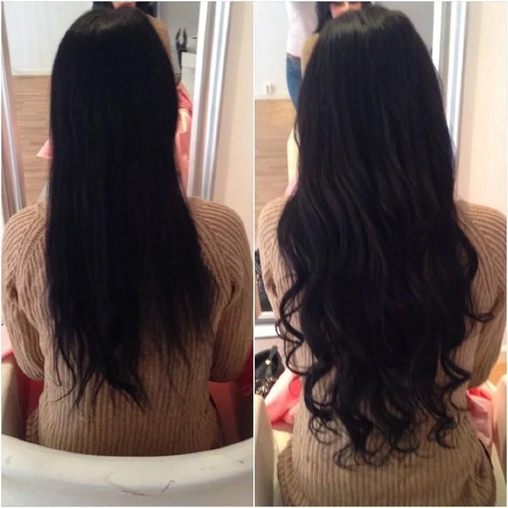 hårförlängning 60 cm
