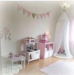 Barnrum Flicka ~ Interiörinspiration och idéer för hemdesign