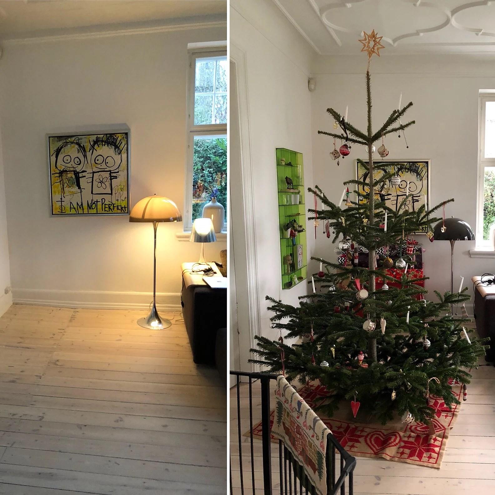 Hvor fanden er julepynten?