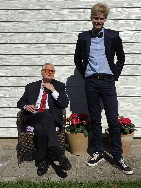 2 generationer. Min far og min nevø.