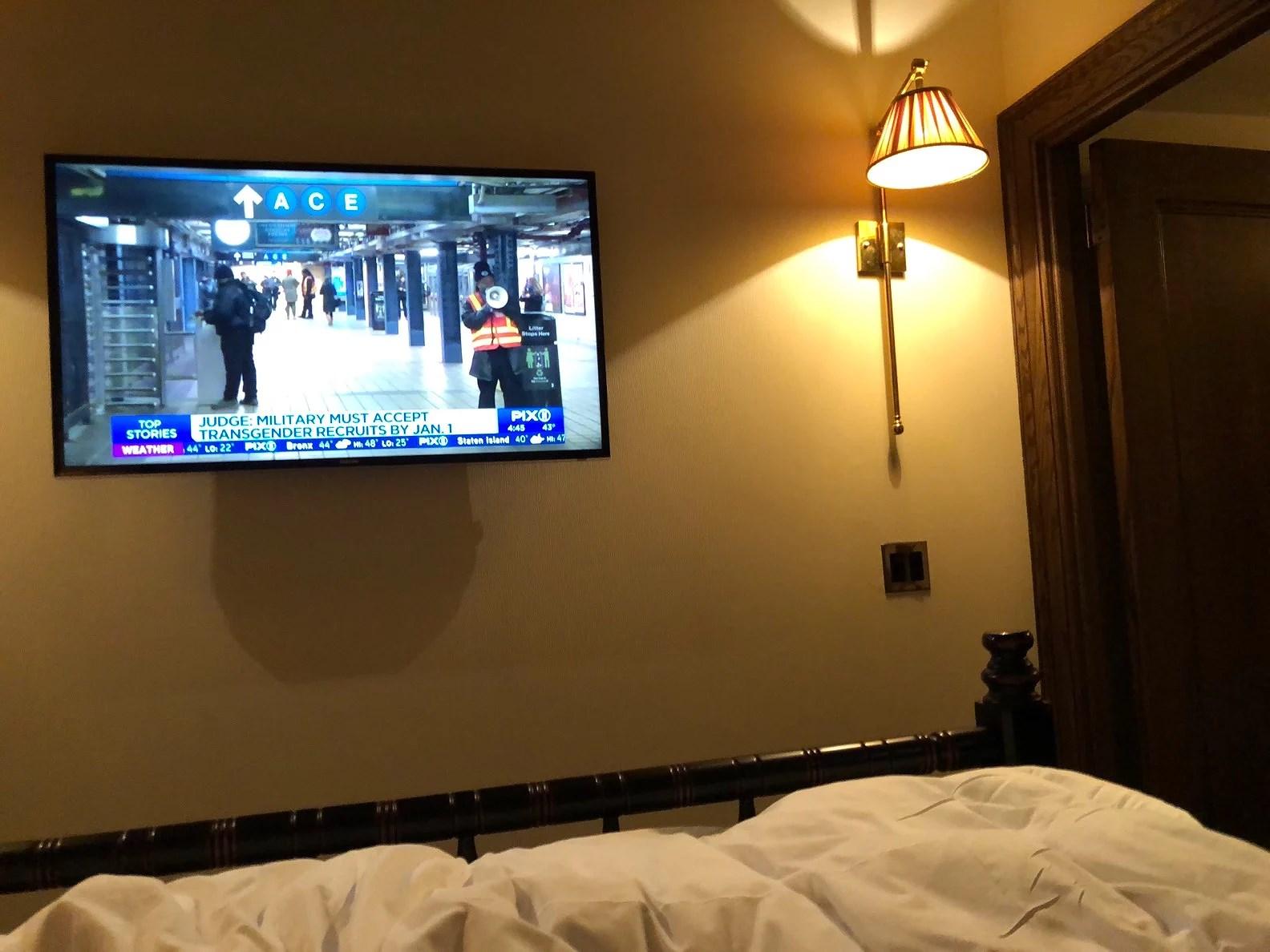 Når man lander i et terror-ramt New York