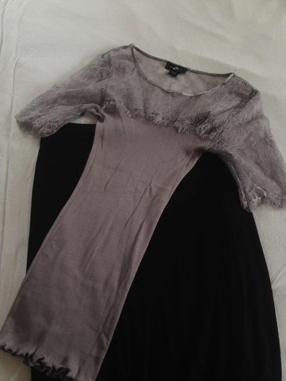Stylebutler top og Pensil skirt
