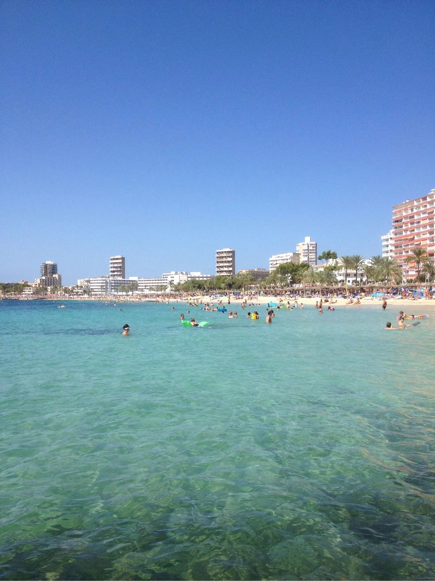 En ledig lördag på Mallorca