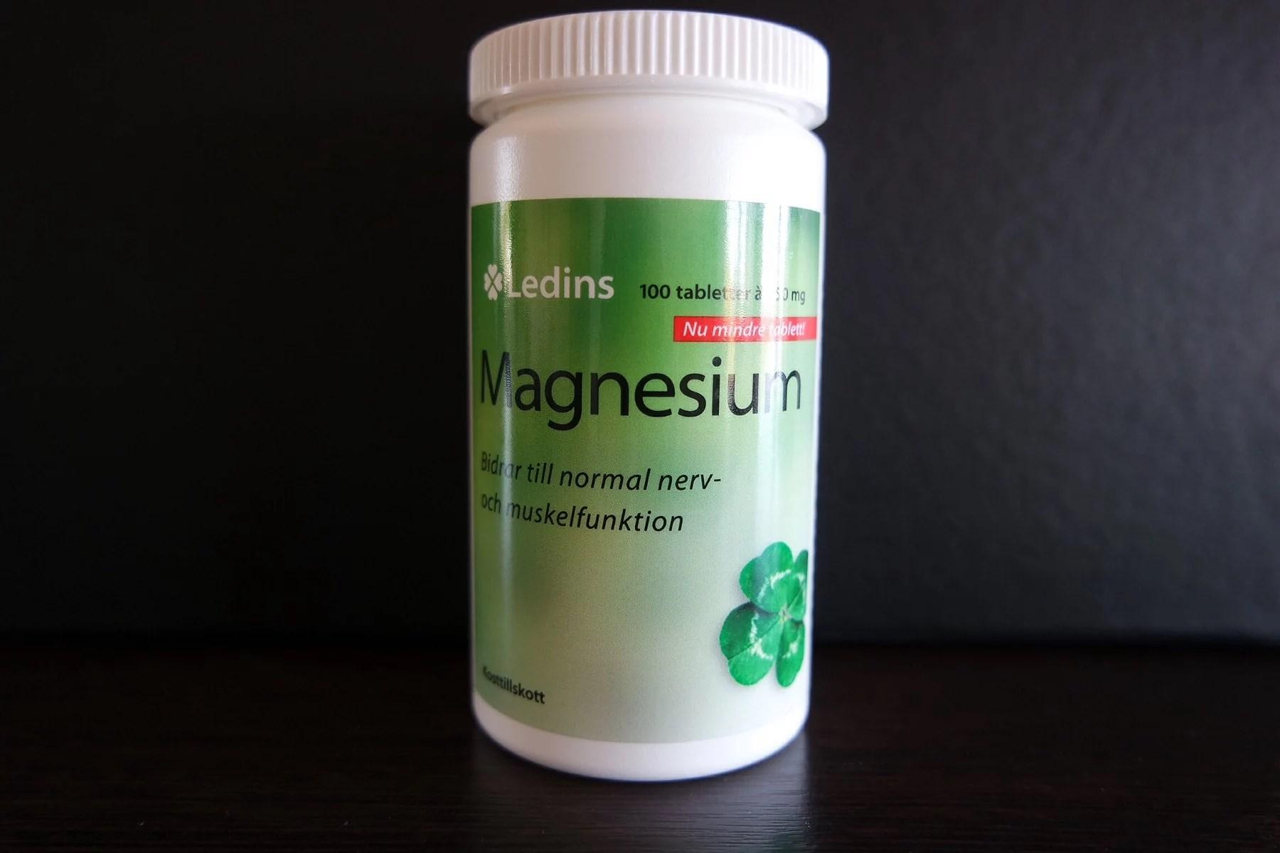 10 tecken på magnesiumbrist