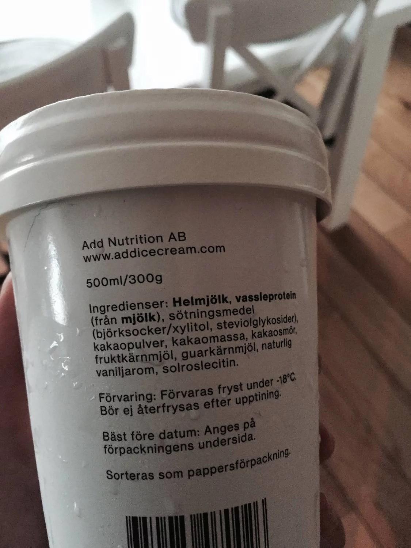 add ice cream innehåll