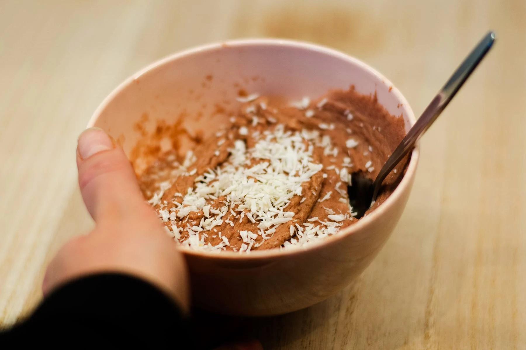 Nyttig brownie på 1 minut