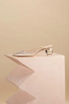 cult gaia clear transparent shoes