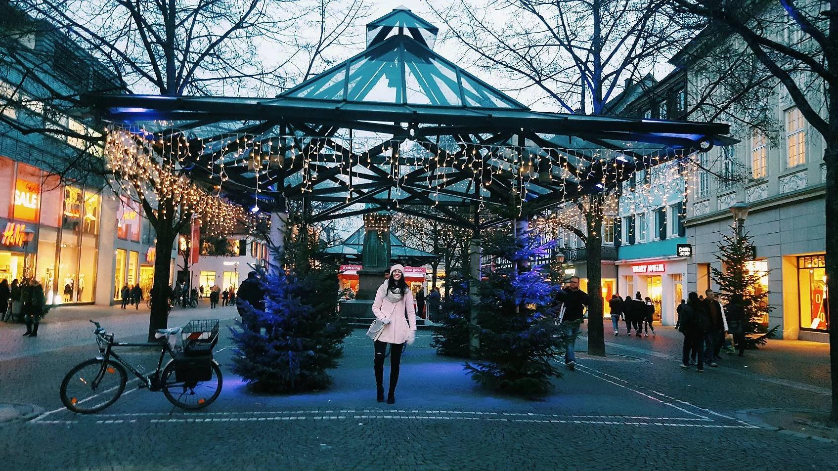 Weihnachtsmarkt Offenburg - wigilia na kursie niemieckiego