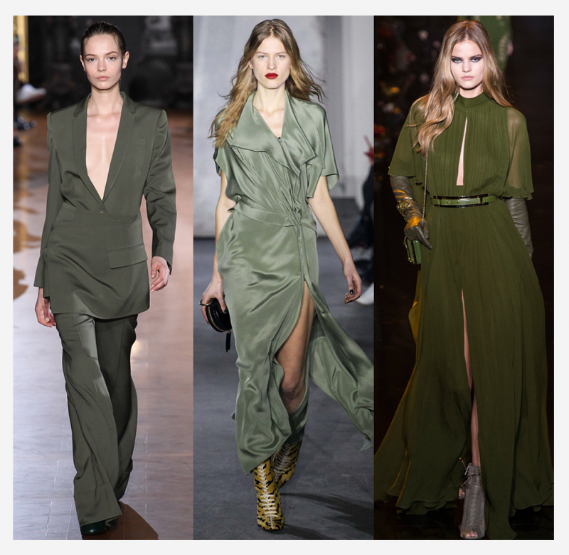 trend report fall winter 2015 2016 aw zanita color army green