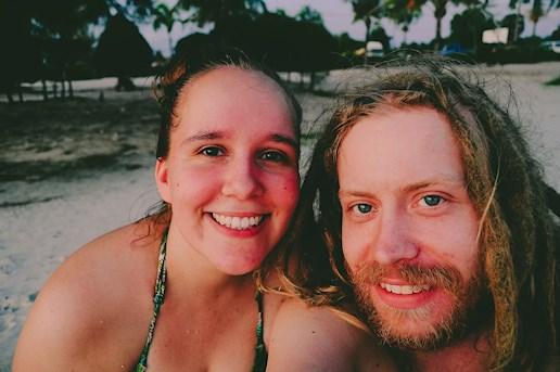 Otres beach, sihanoukville, cambodia, sunset