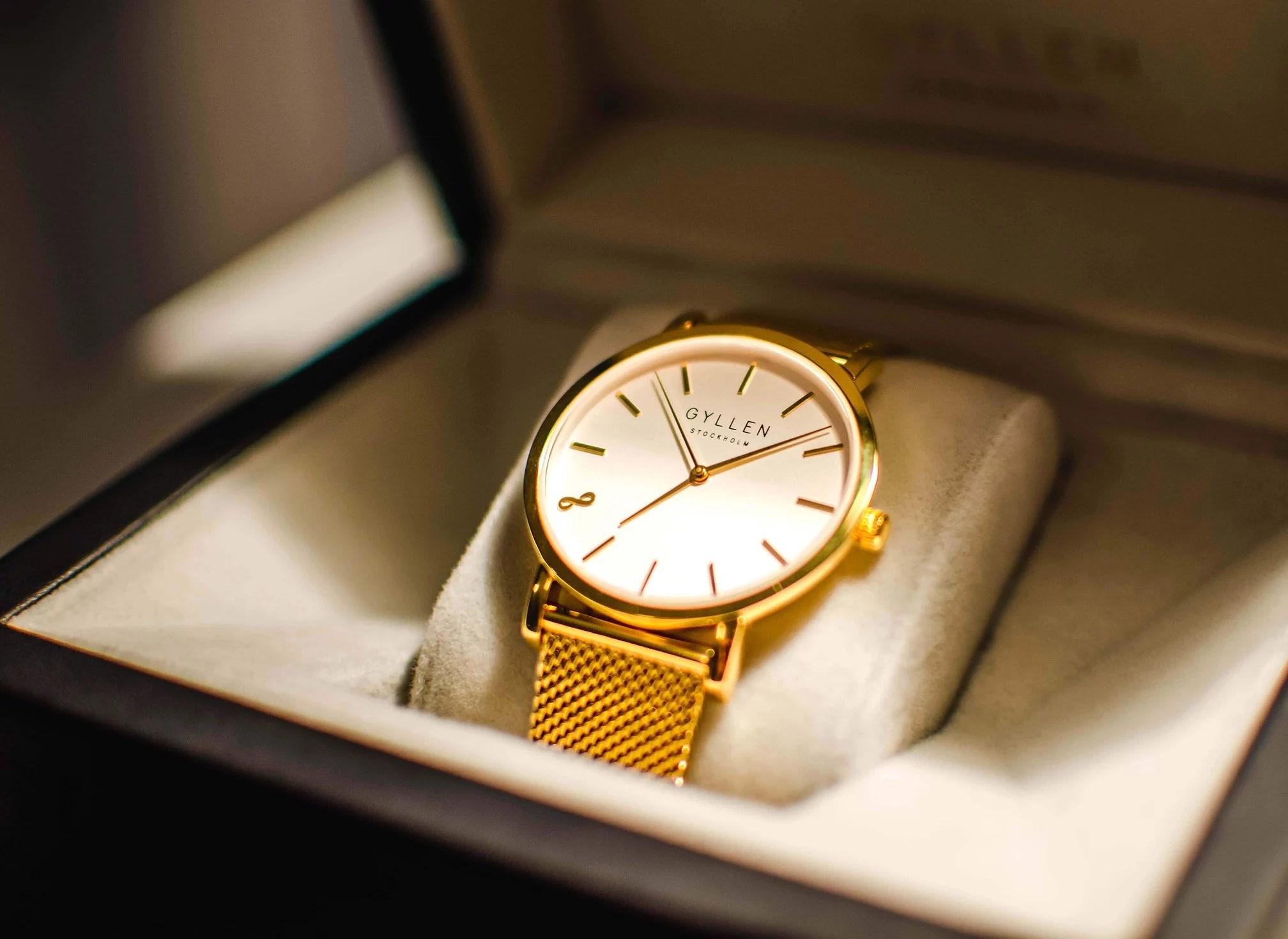I samarbete med Gyllen Watches