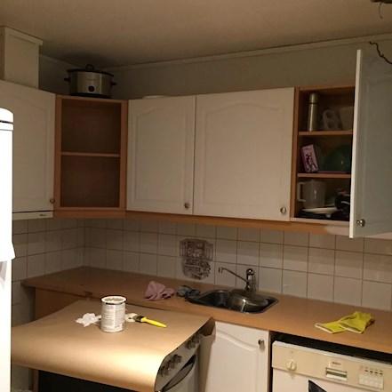 Heidinikkerud blogg: malt kjøkken, før & etter