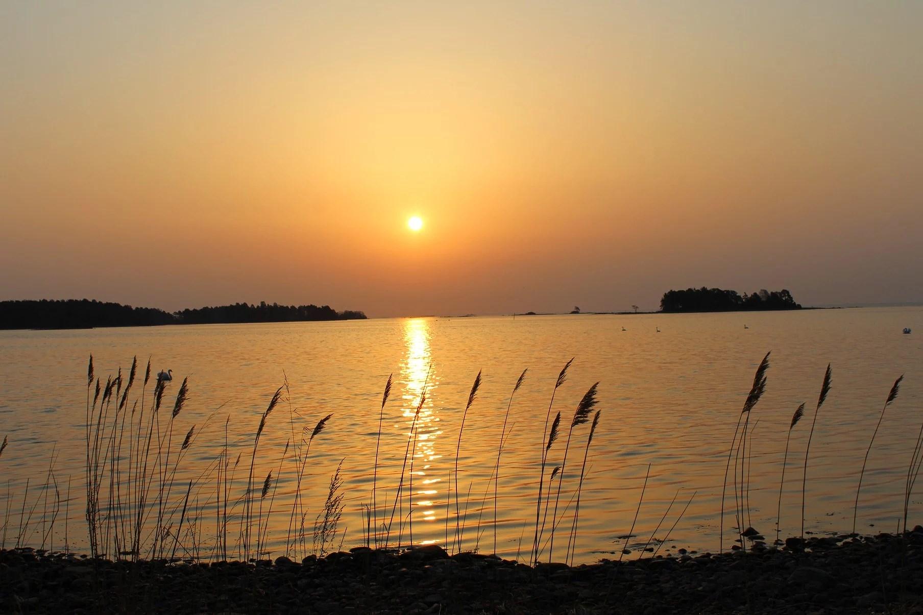 bilder från soluppgången