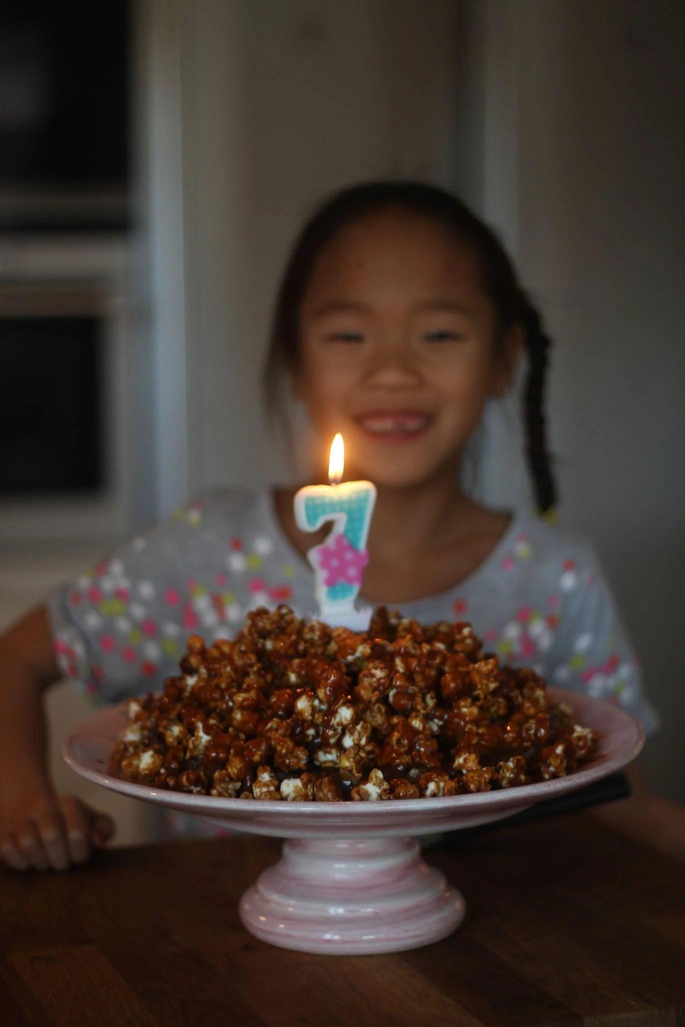 Släktkalas Lucia 7 år