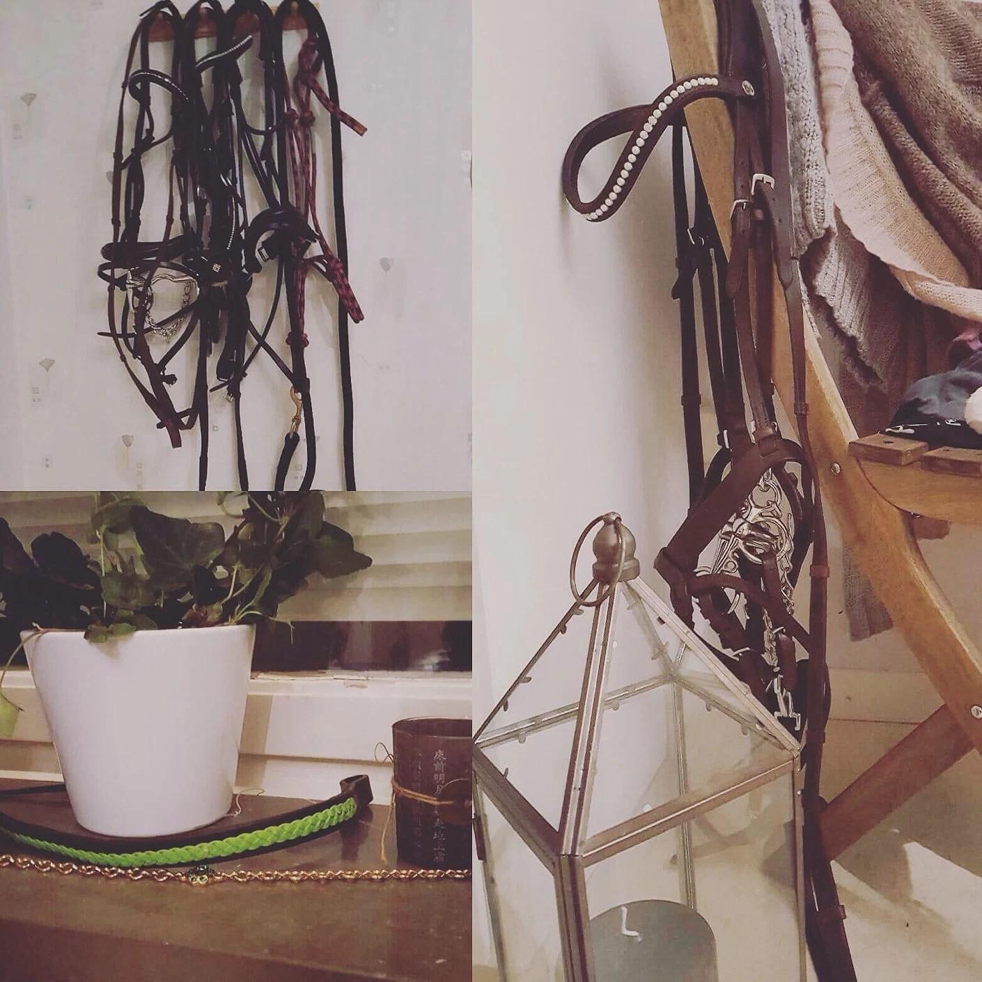 Mitt sovrum som sadelkammare? 😅
