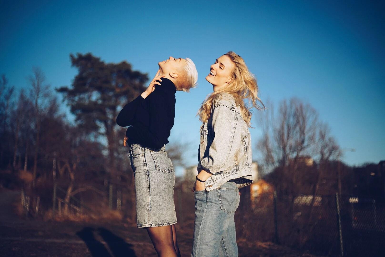 Photoshoot - Gul & Blå