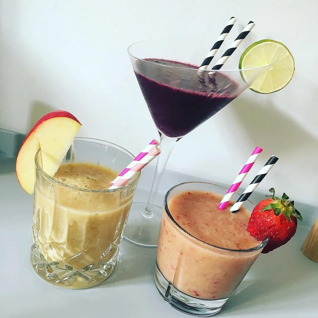 Smoothies - tre forskellige varianter!