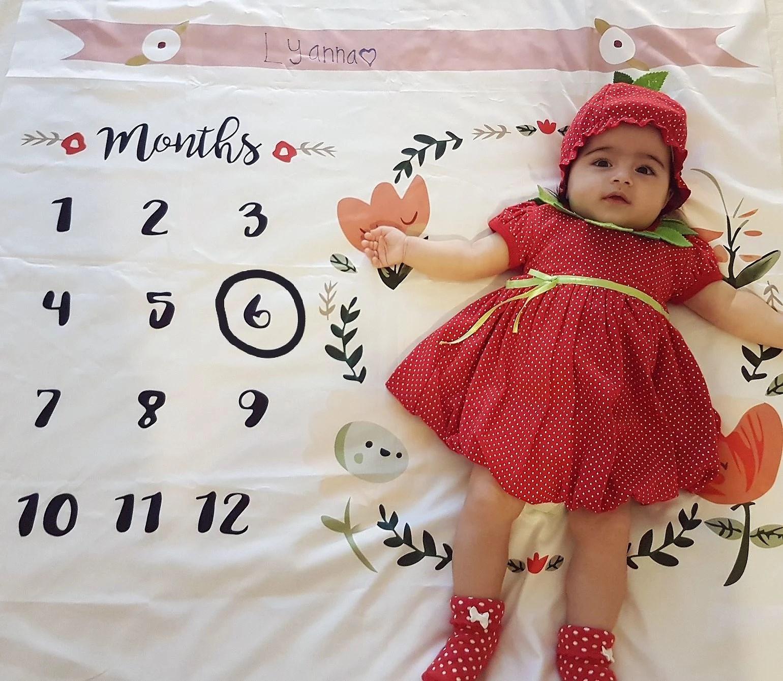 Lyanna is 6 months!