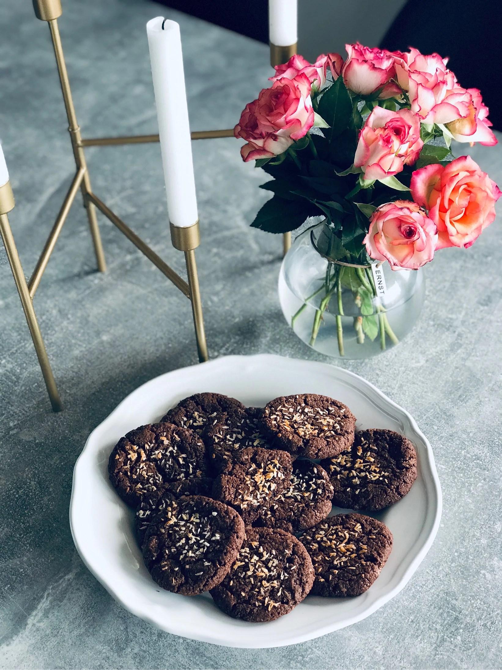 Chokladbollscookies