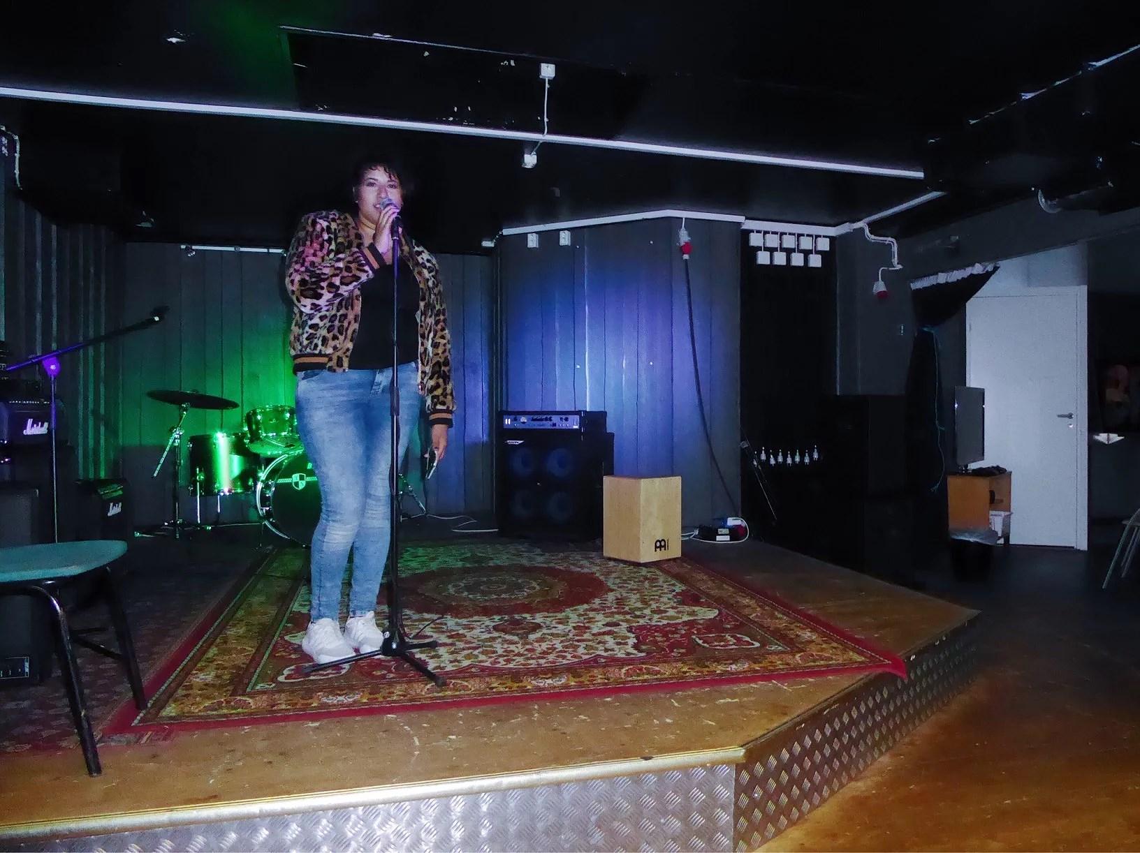 Första gången på scen