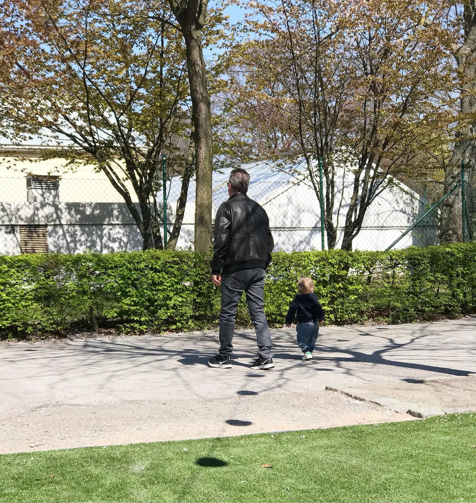 En heldag i parken!