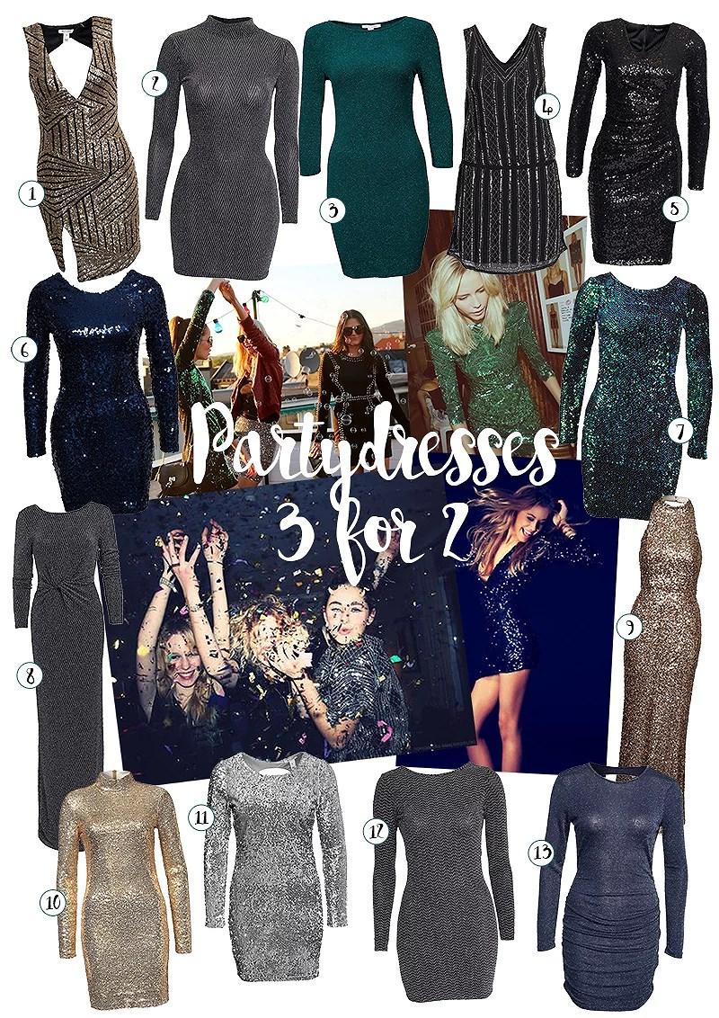 krist.in partykjoler tips jul nelly.com kjoler julekjole 2015 paljettkjole