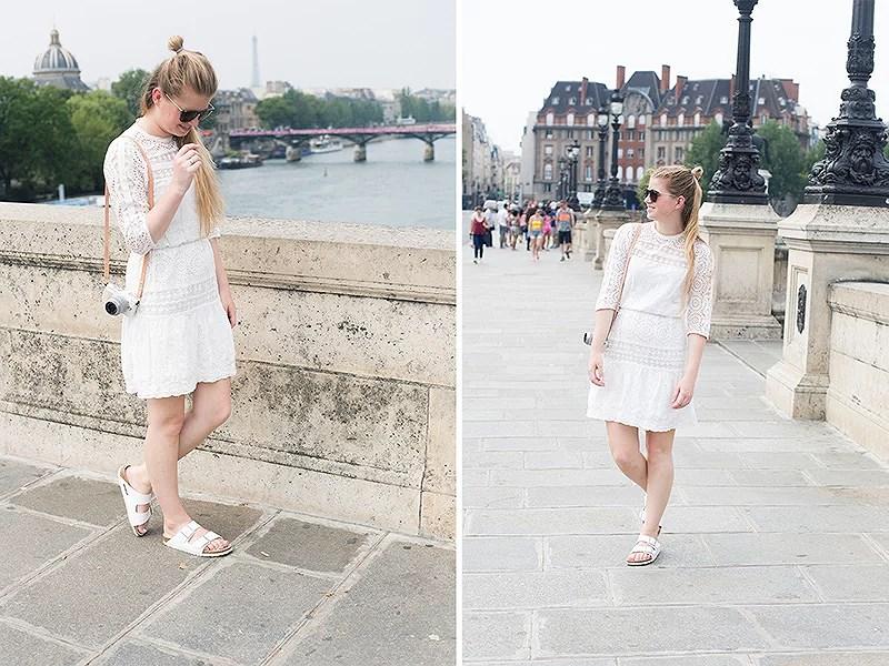 krist.in style outfit paris bro antrekk eiffeltårn hvit kjole vero moda