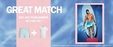 f1d8d2837fb  Björn Borg - köp badshorts och få en gratis t-shirt som matchar på köpet.  Finns i begränsad upplaga. Gäller som längst till 26/5.