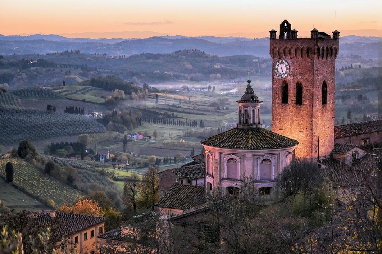 San Miniato i regionen Toscana i Italien