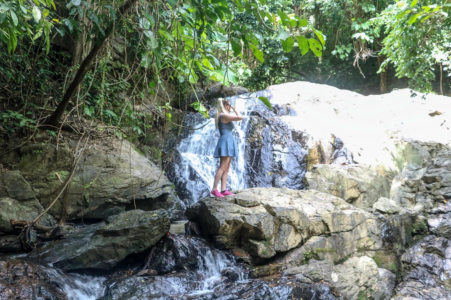 Ton Ao Yon Waterfall.