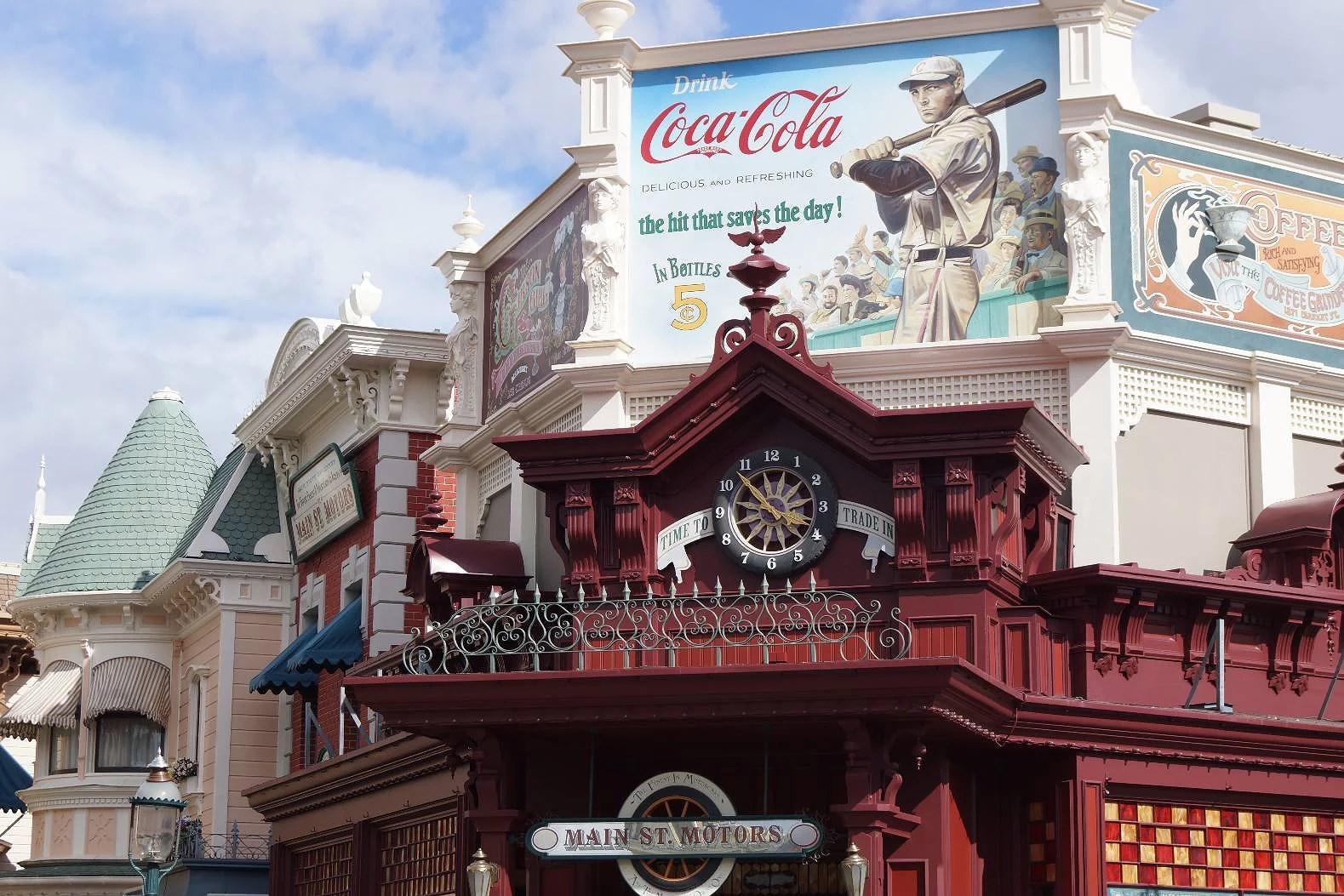 Menyer för snabbmatsrestauranger på Disneyland Paris - Disneyland Park (EuroDisney)