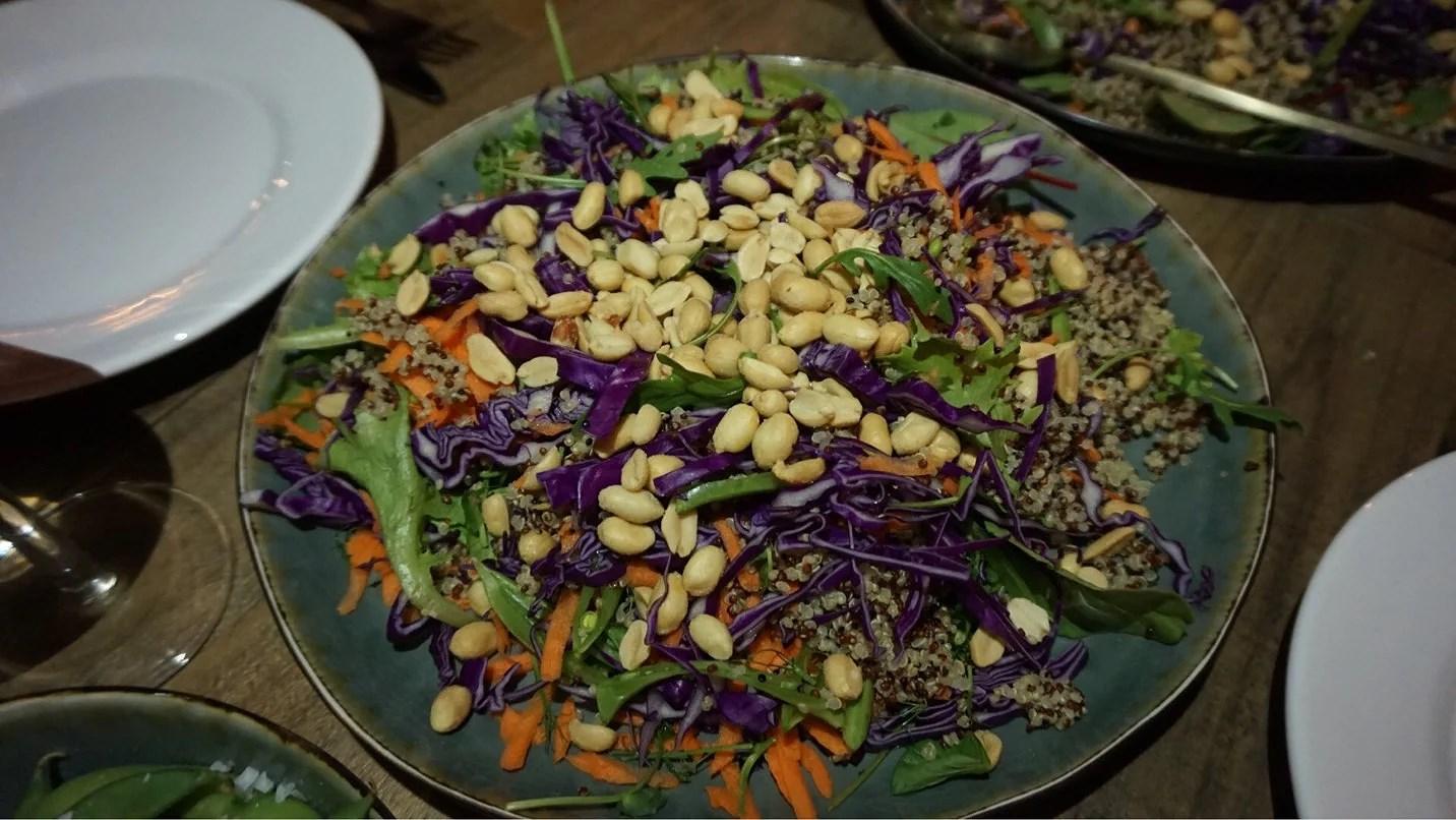 Asiatisk vegansk sallad