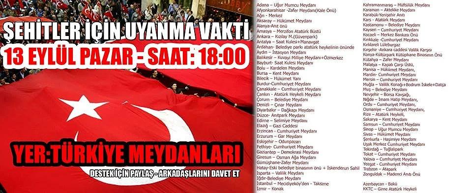 Ny demonstrasjon i Alanya i morgen