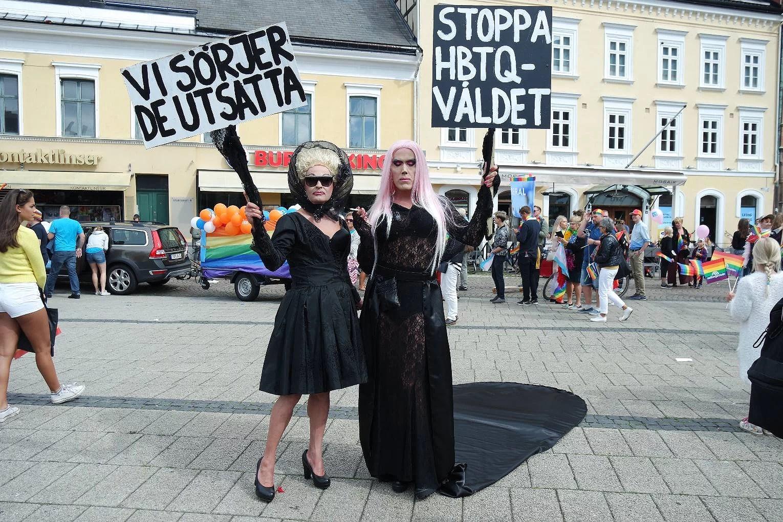 Malmö Pride Paraden - Manifestationen gjorde succé!!!