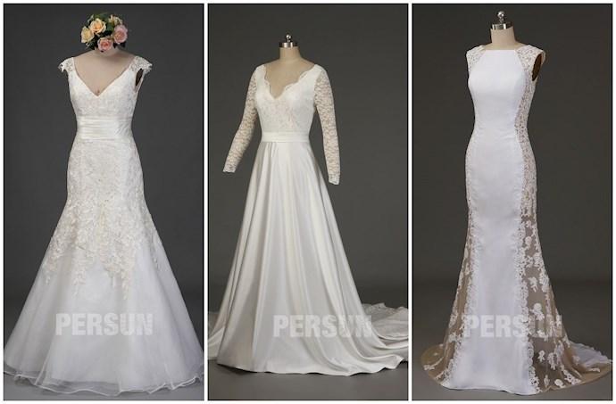 robe mariée longue avec dentelle pour mariage vert