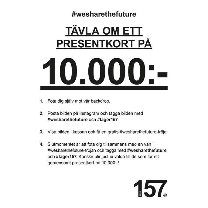 Fota dig och få gratis tröja + tävling om presentkort på 10.000 kronor
