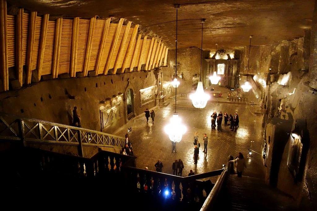 Den underjordiska saltgruvan