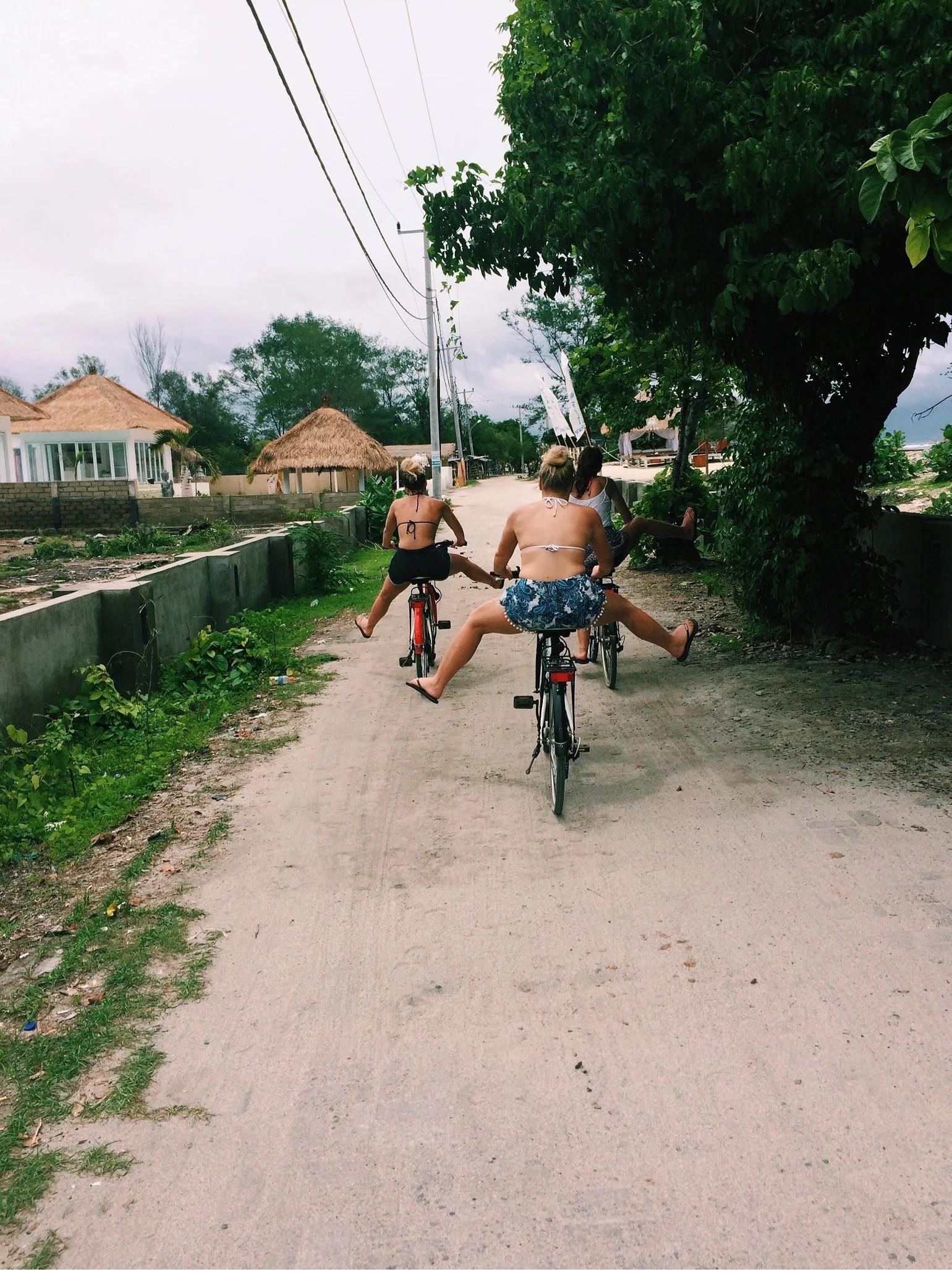 Cykla i stormen