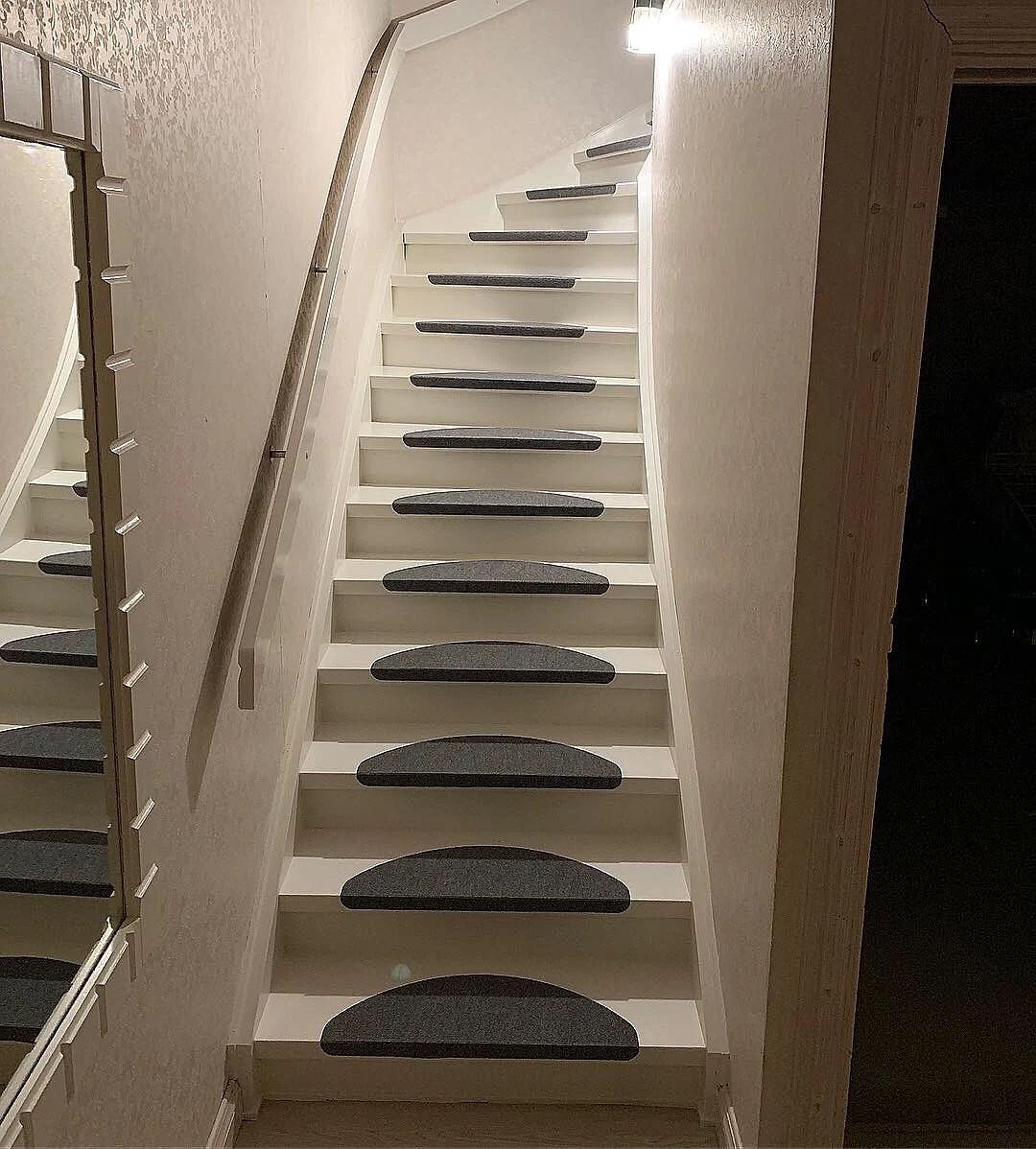 Vår trappa - före & efter