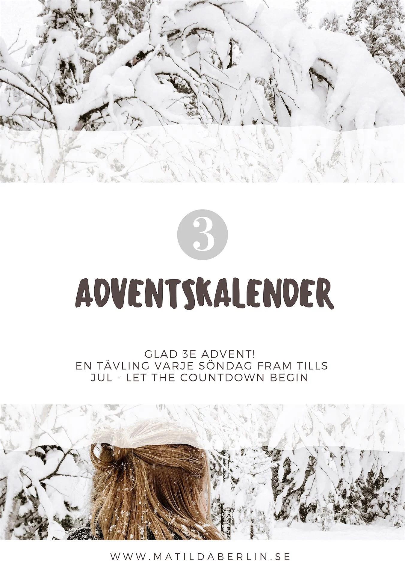 Adventskalender - lucka 3