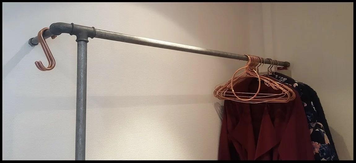 Industriel garderobe