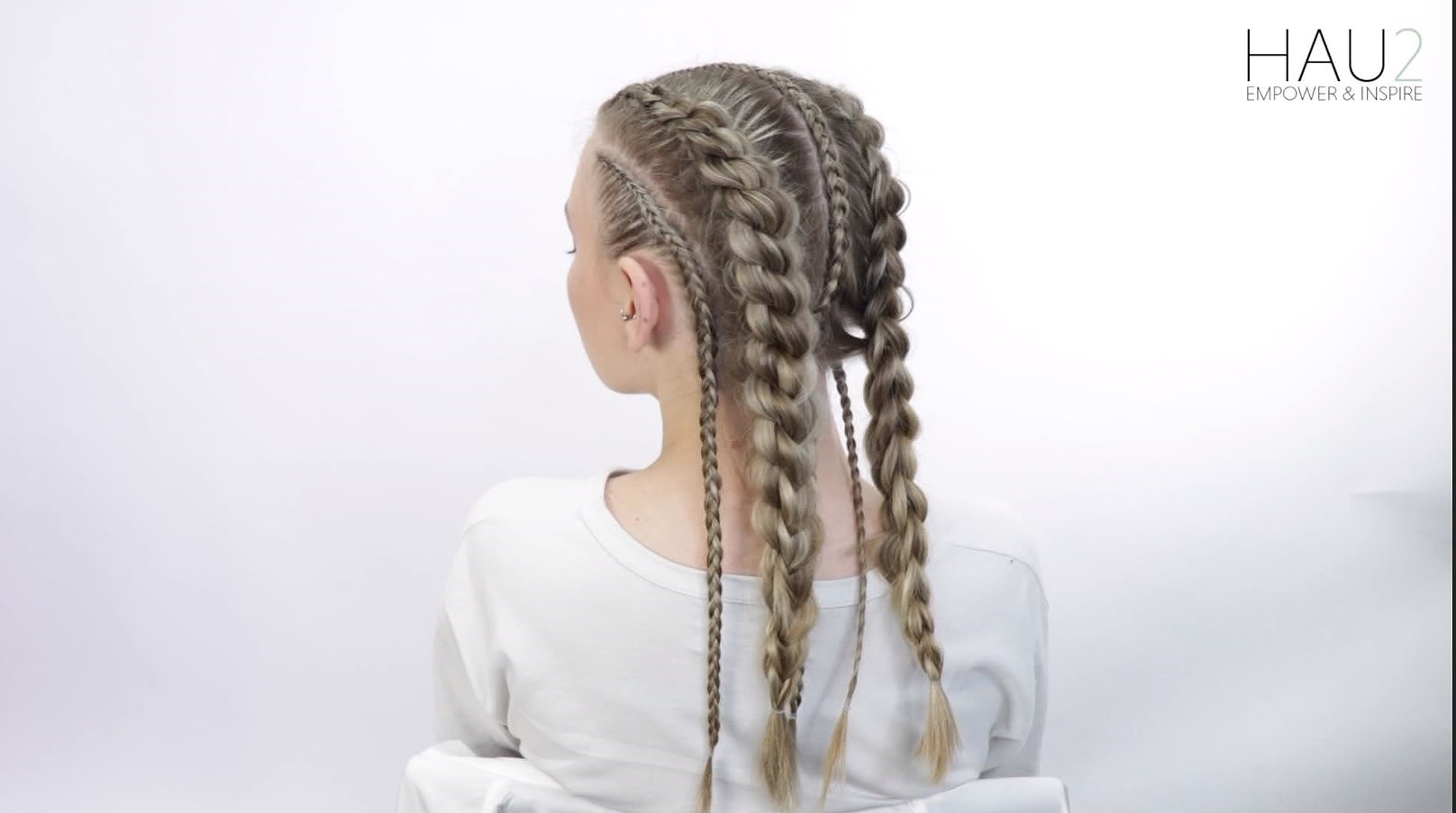 An Awesome Braided Festival Look