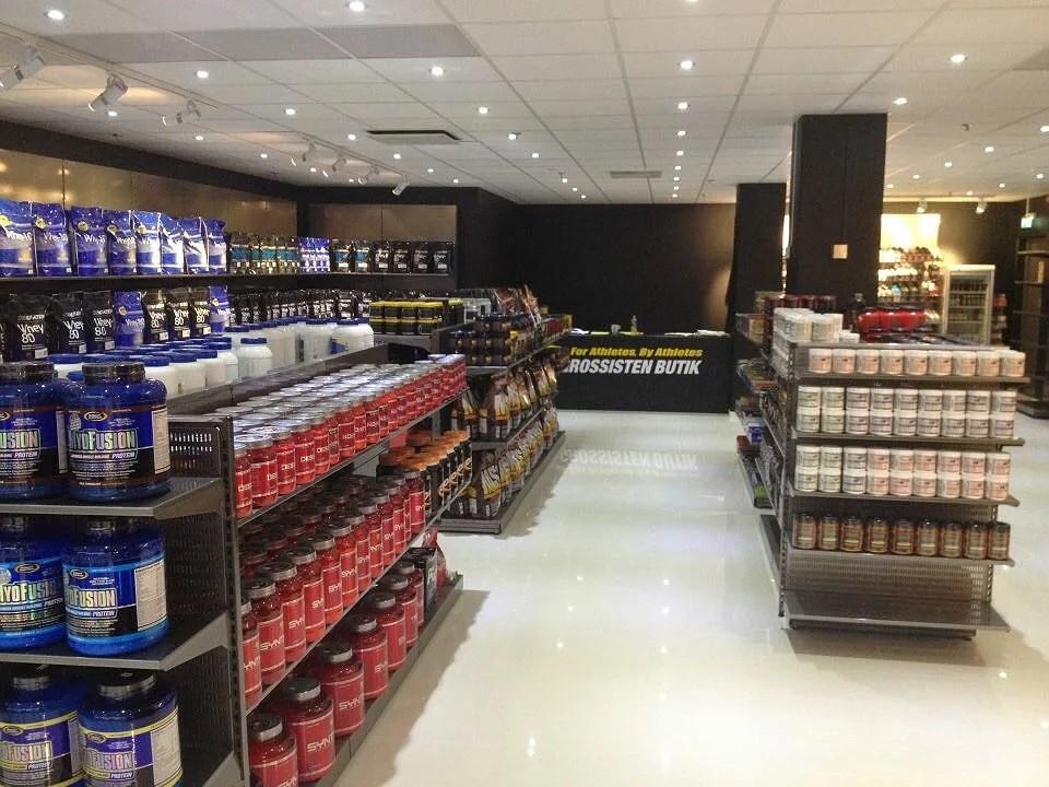 gymgrossisten butik karlstad
