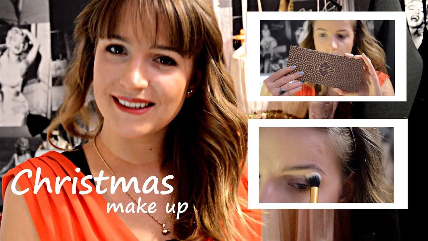 CHRISTMAS MAKEUP / Zoeva Cocoa Blend