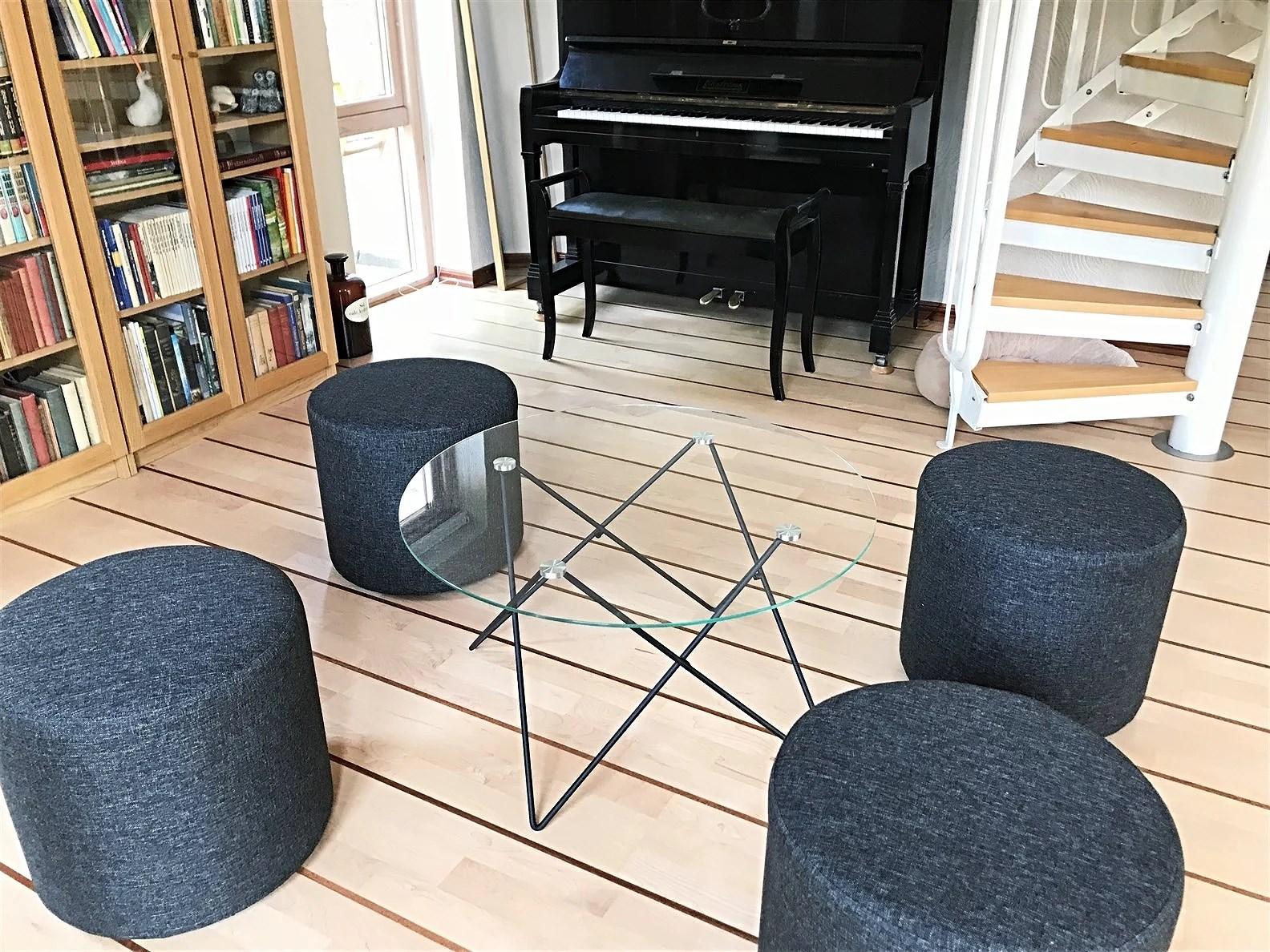 Vardagsrummet - Efter