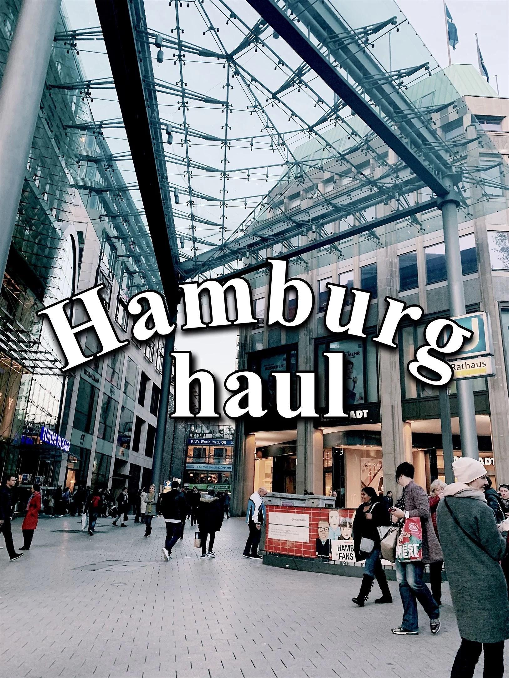 Hamburgs haul