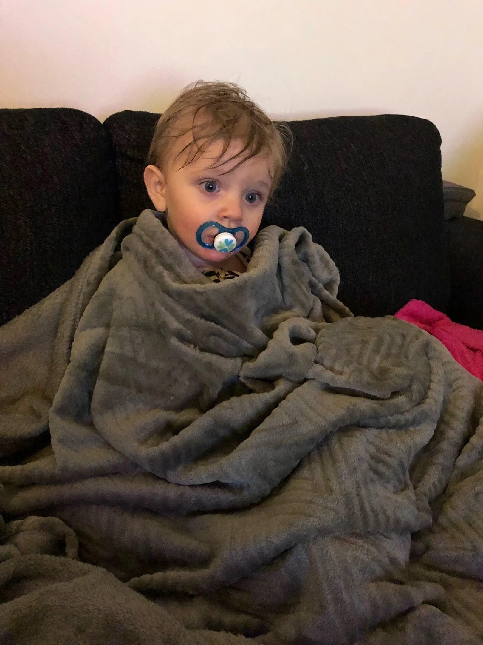 Hur ofta ska ett barn vara sjuk?