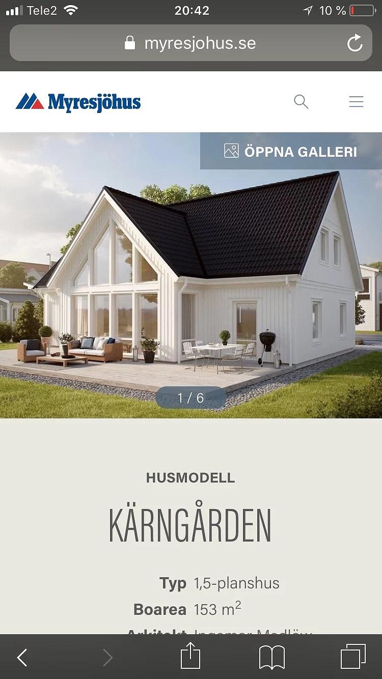 Projekt bygga hus igång!