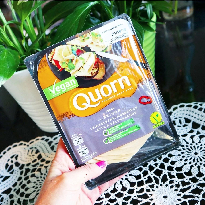 Qourn vegan skivor - lätta