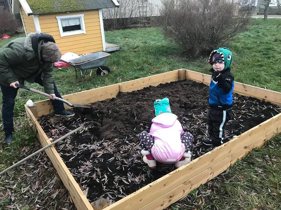 Att hålla barnen hemma från dagis